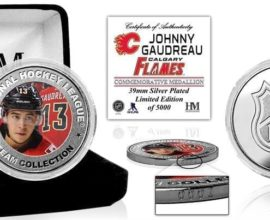 Johnny Gaudreau Commemorative Coin