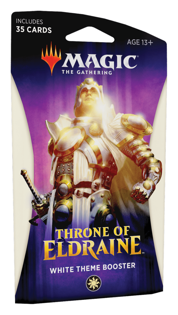 Magic : The Gathering Throne of Eldraine Theme Booster - Set of 5